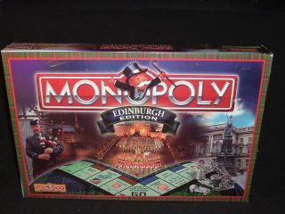 Edinburgh Monopoly Scotland Edition New SEALED United Kingdom Scottish