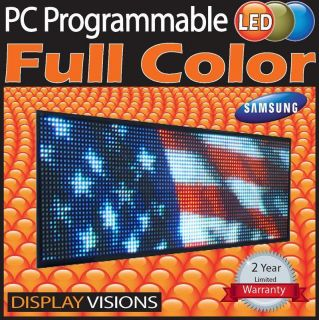 Programmable LED Sign Full Color Oudoor Display Sign