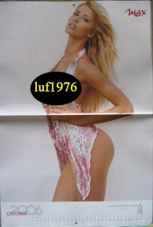 Calendar Sexy Elena Santarelli Nude Calendario Max 2006