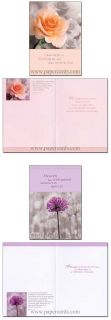 Gods Promise Box of 12 Scriptured Sympathy Cards with Envelopes