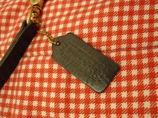 Vintage Made in USA Black Coach Leatherware Willis Messenger Bag 9927
