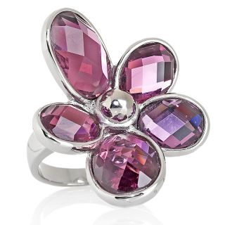 oval crystal flower design ring note customer pick rating 30 $ 14 98 s