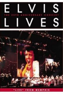 Elvis Presley Lives 25th Anniversary Concert DVD SEALED