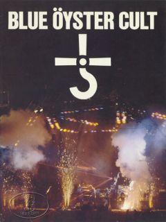 Blue Oyster Cult 1980 Tour Concert Program Programme Book Buck Dharma