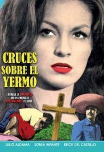Cruces Sobre El Yermo 1967 Erick Del Castillo New DVD