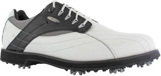 Mens Hi Tec Golf Shoes Dri Tec Wide White Brown Size 6 12