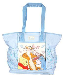Disney Winnie Pooh Tigger Piglet Eeyore Baby Diaper Bag