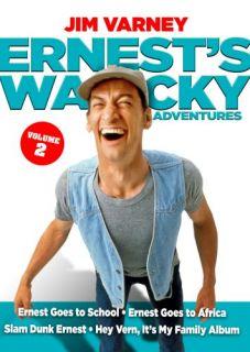 Ernests Wacky Adventures Vol 2 New 2 DVD Set 4 Films Ernest P Worrell