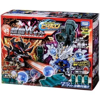 Takara Tomy Cross Fight B Daman CB 49 Super Dragon Double Set 463634