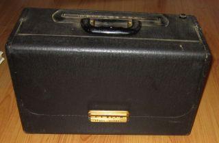 Vintage Zenith trans oceanic wave magnet short wave radio   nice piece