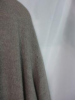 Eileen Fisher Womens Wool Open Front Sweater Sz L Large