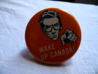 Elvis Costello 1977 Canadian Promo Tour Button Extremely Rare