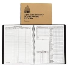 Dome Publishing Deluxe Auto Mileage Log Book 12MONTH6X3