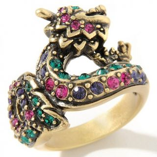Jewelry Rings Fashion Heidi Daus Sublime Serpent Crystal Ring