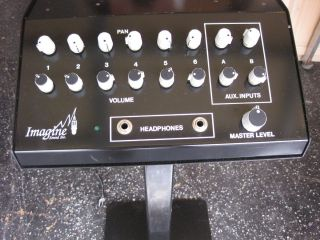 Recording Studio Monitor Station with Pedestill
