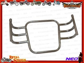 Vintage Royal Enfield Wrap Around Engine Crashbar Chromed with