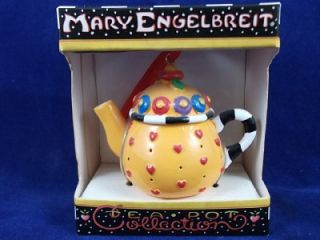 Mary Engelbreit Collection Miniatureteapot Christmas Ornament Tiny