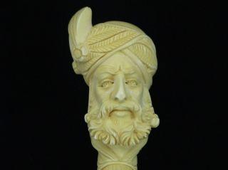 Ottoman Pasha Tobaco Meerschaum Pipe by Medet Kara 1822