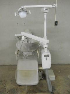 Engle Chair Adec Delivery Unit Pelton Crane Light Used Dental