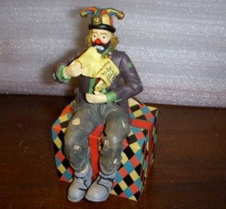 EMMETT KELLY JR signed WELCOME TO THE CLUB 1999 COLLECTORS SOCIETY