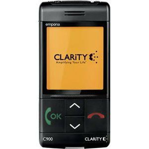 Clarity Claritylife Emporia C900 Mobile Cell Phone GSM V100 50900 000