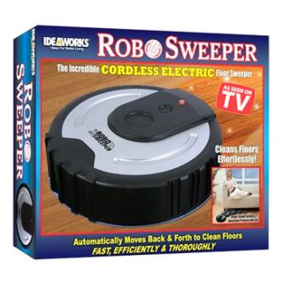 Ideaworks® Cordless Electric Floor Sweeper