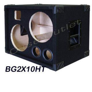 2x10 Bass Guitar Empty Speaker Cabinet