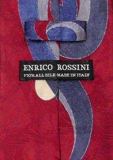 Enrico Rossini Silk Necktie Made in Italy Design Mens Neck Tie 3231 4