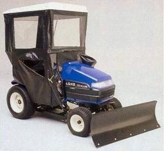 NEW HOLLAND LS TRACTORS HARD TOP CAB ENCLOSURE