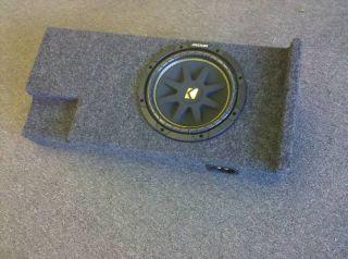 Silverado GMC Sierra Extended Ext Cab Subwoofer Box Enclosure