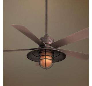 Nautical or Other Decor Indoor Outdoor Ceiling Fan Wall Control