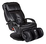 Thermostretch Black Electric Robotic Massage Chair Recliner