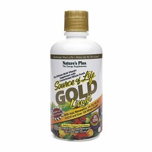 Natures Plus Source of Life Gold Liquid 30 fl oz (887.1 ml)