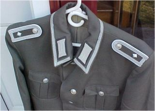 German Army NCO Wachregiment Friedrich Engles Uniform Jacket