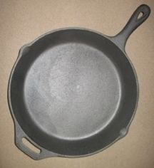 Cast Iron Skillet Extra Large Family Size Cookware Camping