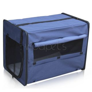 42 Blue EZ Soft Dog Crate Cage Kennel Carrier House