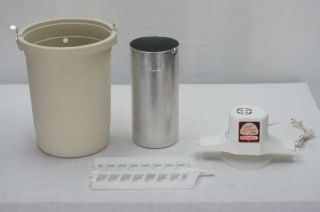 Old Fashioned Rival 4 Quart Electric Yogurt & Ice Cream Maker Freezer