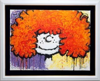 Tom Everhart The Peanuts Big Hair signed 159 250 Certificate