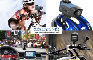New Extreme Sport Action Camera 1080p HD Waterproof Helmet Bike HDMI