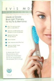 Evis MD Platinum Blue Light Therapy Acne Blemishes