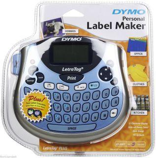 DYMO Personal Electronic Label Maker LetraTag PLUS LT 100T Label