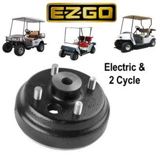 EZGO Golf Cart Electric 2 Cycle Brake Drum 1982 Up 19186 G1