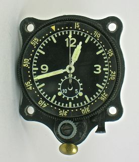 Junghans Military Chrono German Air Force Bo UK1 Aircraft Clock RARE