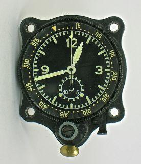 Junghans Military Chrono German Air Force Bo UK1 Aircraft Clock RARE