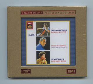 Elgar Cello Concerto Sea Pictures JVC Japan XRCD XRCD24 CD Brand New