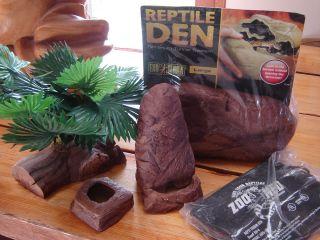 Pad Meal Worm Dish Water Dish Plant Lizard Gecko Lot Exo Terra