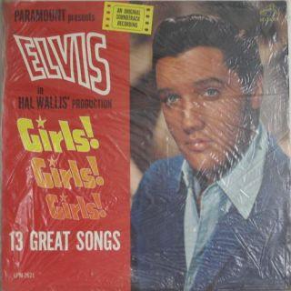 Elvis Presley Girls Girls Girls RCA 2621 Mono OG Black Long Play