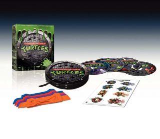 Teenage Mutant Ninja Turtles 25th Anniversary New DVD
