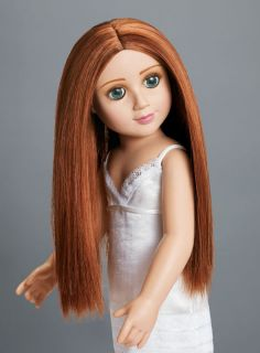 Erin 18 Vinyl Carpatina Doll Red Hair Green Eyes New
