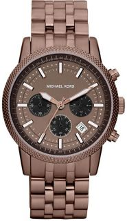 New Michael Kors Scout Espresso Ladies Watch MK8237